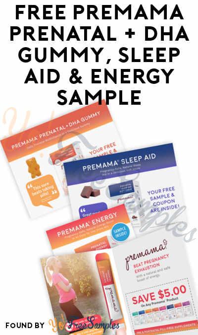 dd74cee0a FREE Premama Prenatal + DHA Gummy