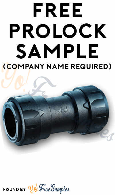 FREE JG ProLock Coupler Sample (Company Name Required)