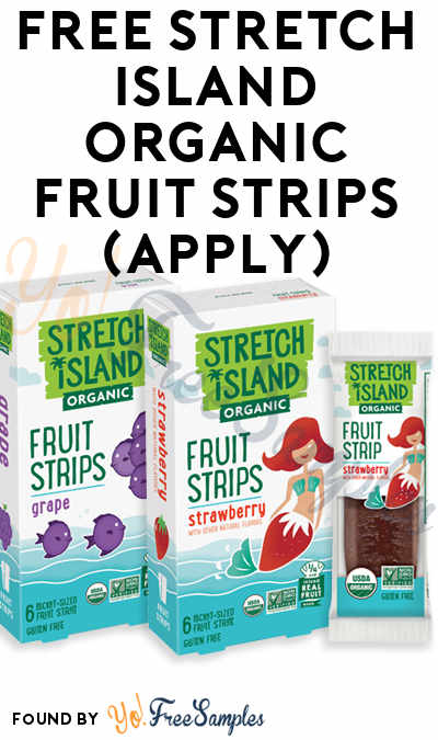 FREE Stretch Island Organic Fruit Strips (Mom Ambassador Membership Required)