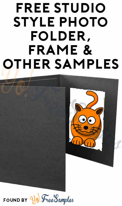 FREE Studio Style Photo Folder, Frame & Other Samples
