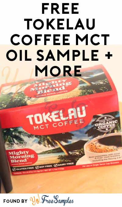 FREE Tokelau Coffee MCT Oil Sample + More