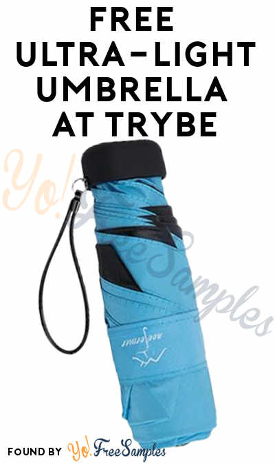 FREE Ultra-Light Umbrella At Trybe (Survey Required)