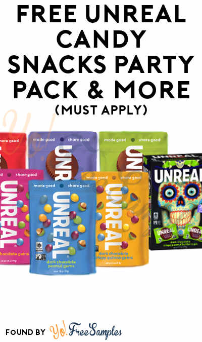 FREE UnReal Candy Snacks Party Pack & More (Must Apply To Host Tryazon Party)