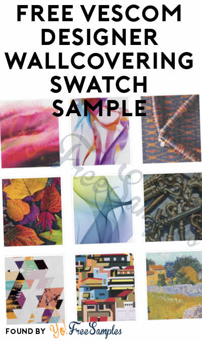 FREE Vescom Designer Wallcovering Swatch Sample