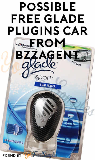 Possible FREE Glade PlugIns Car From BzzAgent