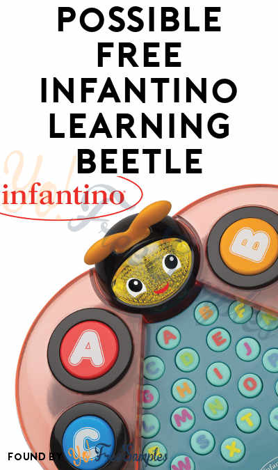 Possible FREE Infantino Learning Beetle