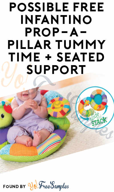 Possible FREE Infantino Prop-a-Pillar Tummy Time + Seated Support