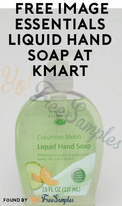 TODAY ONLY: FREE Image Essentials Liquid Hand Soap At Kmart