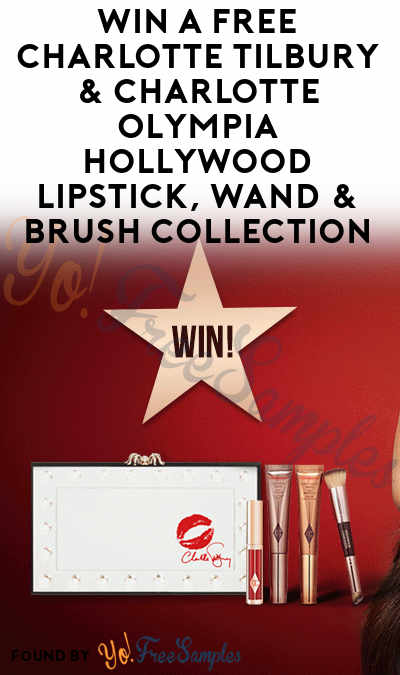Win A FREE Charlotte Tilbury & Charlotte Olympia Hollywood Lipstick, Wand & Brush Collection