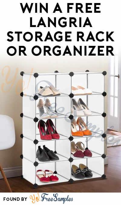 Win A FREE Langria Storage Rack or Organizer