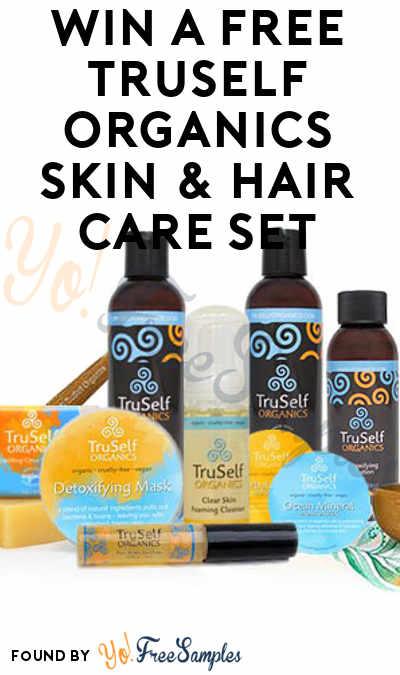 Win A FREE Truself Organics Skin & Hair Care ($175 Value)