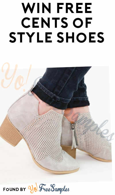 Win FREE Cents of Style Shoes