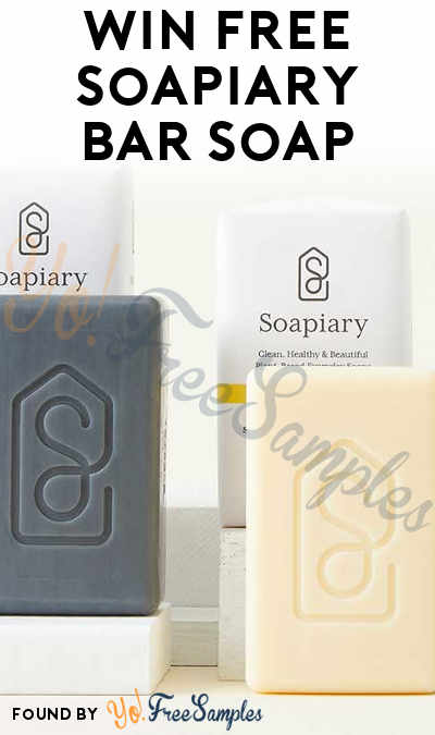 Win FREE Soapiary Bar Soap