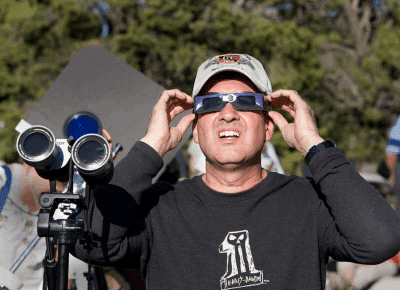 viewing a solar eclipse