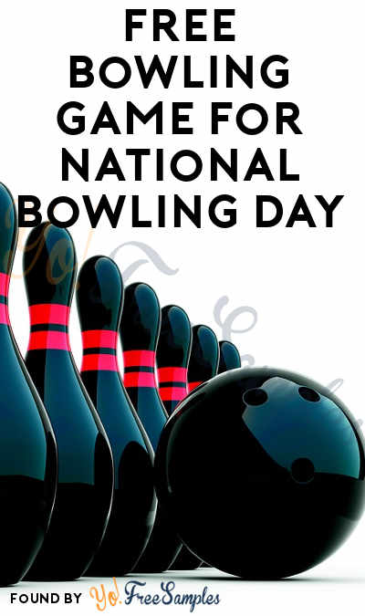 TODAY: FREE Bowling Game Coupon For National Bowling Day August 11th