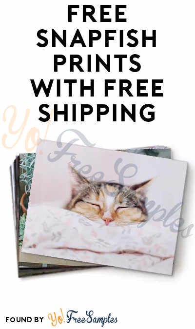 20 FREE 4×6 Snapfish Prints With Free Shipping [Verified Received By Mail]
