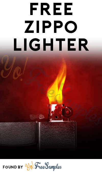 FREE Zippo Lighter (21+ Only)