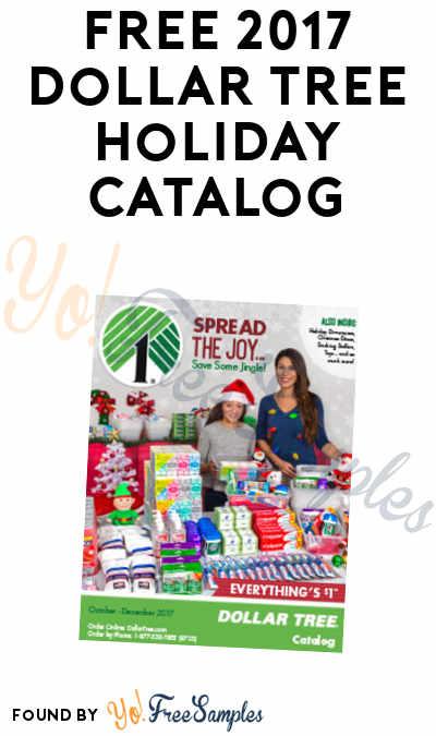 FREE 2017 Dollar Tree Holiday Catalog