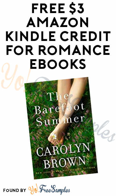 FREE $3 Amazon Kindle Credit For Romance eBooks