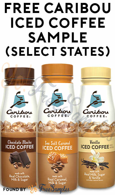 FREE Caribou Iced Coffee Sample (Select States)