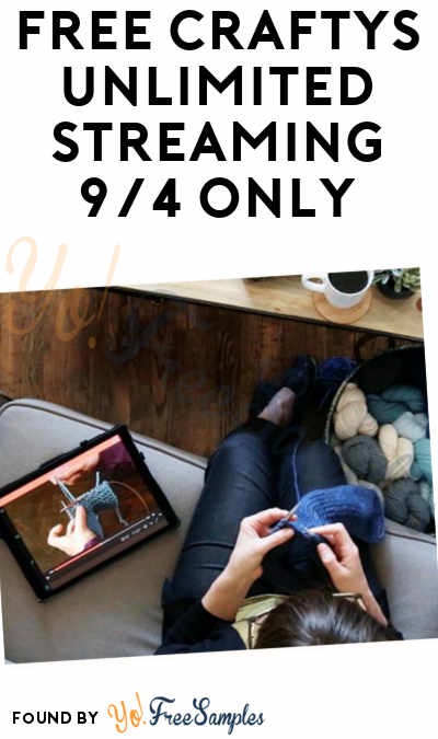 FREE Craftys Unlimited Streaming 9/4 Only