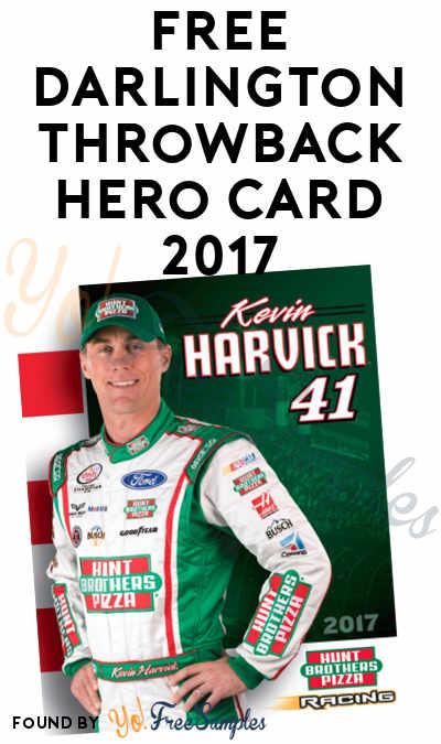 FREE Darlington Throwback Hero Card 2017