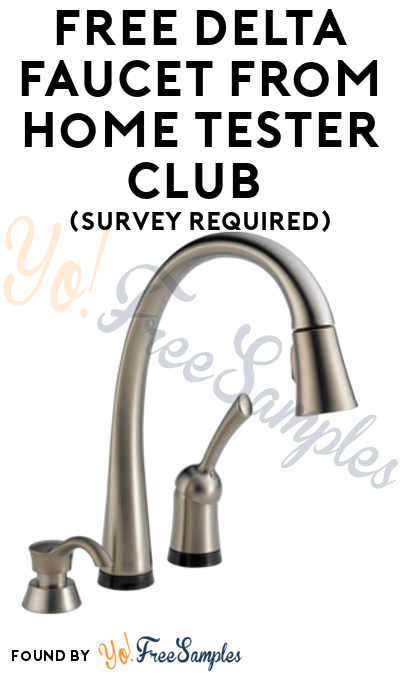 FREE Delta Faucet or Shower Head From Home Tester Club (Survey Required)
