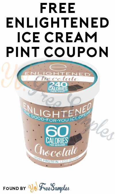 FREE ENLIGHTENED Ice Cream Pint Coupon [Verified Received By Mail]
