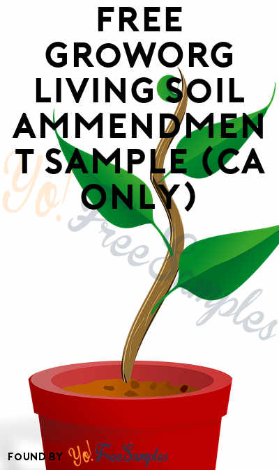 FREE GrowOrg Living Soil Ammendment Sample (CA Only)