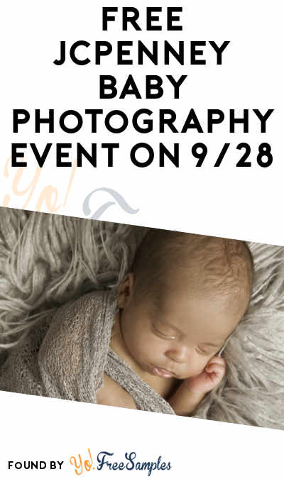 FREE JCPenney Baby Photography Event On 9/28