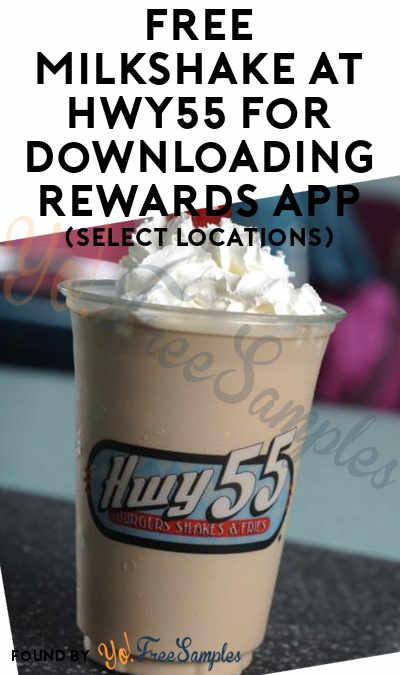 FREE Milkshake At Hwy55 For Downloading Rewards App (Select Locations)