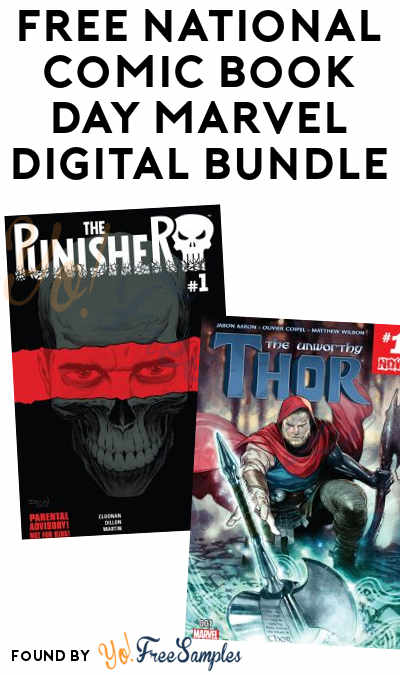 TODAY (9/25) ONLY: FREE National Comic Book Day Marvel Digital Bundle