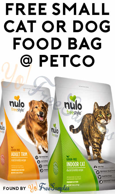 FREE Natural Balance, Nature's Variety, Nulo, Pro Plan, Science Diet or Wellness Dog & Cat Food Bags At PetSmart With Coupon (PetPerks Members)
