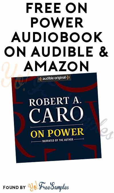 FREE On Power Audiobook On Audible & Amazon