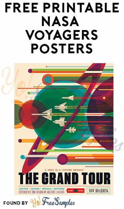 FREE Printable NASA Voyagers Posters