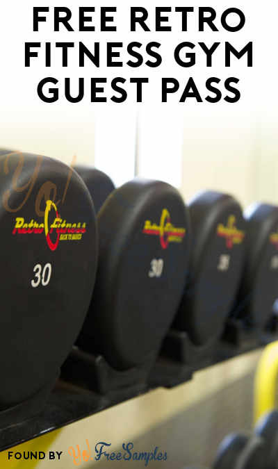 FREE Retro Fitness Gym Guest Pass