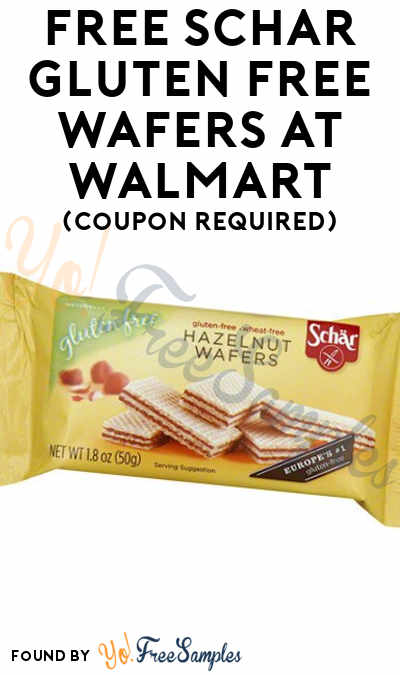FREE Schar Gluten Free Wafers At Walmart (Coupon Required)