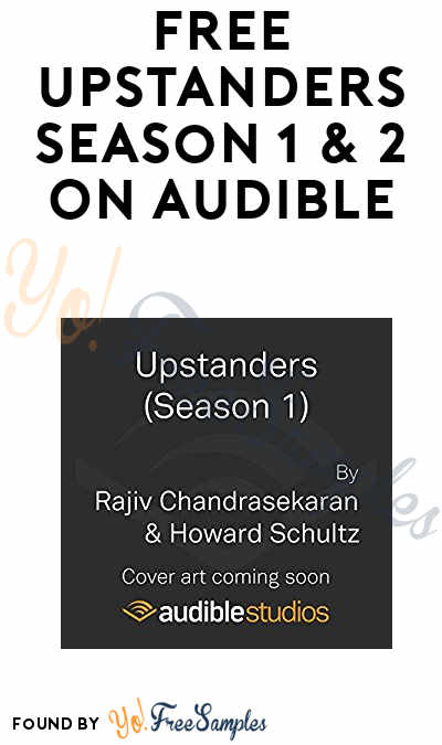 FREE Upstanders Season 1 & 2 On Audible