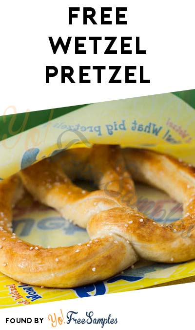 FREE Original Pretzel at Wetzel's Pretzels Through 9/24 (Mobile App Required)
