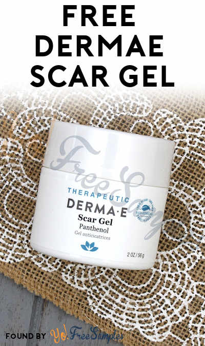 First 5K: FREE derma|e Scar Gel