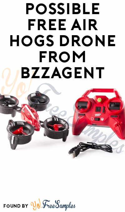 Possible FREE Air Hogs Drone From BzzAgent