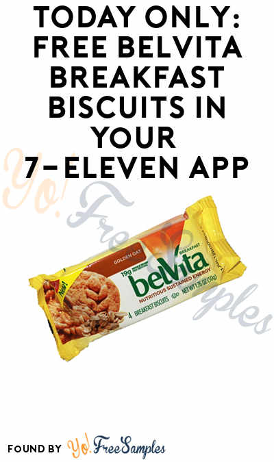 TODAY ONLY: FREE Belvita Breakfast Biscuits In Your 7-Eleven App