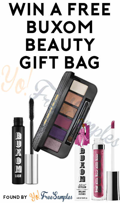 Win A FREE Buxom Mascara, Eyeshadow, Eyeliner & More (Instagram Required)