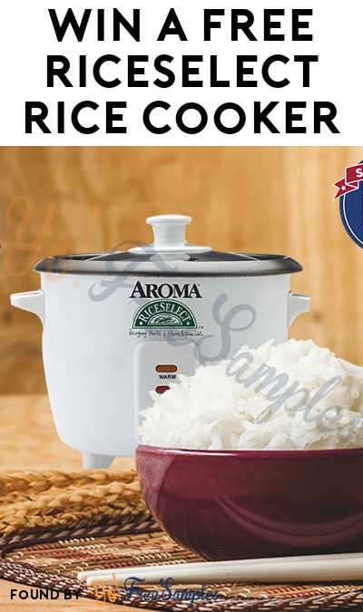 Win A FREE RiceSelect Rice Cooker (Facebook Required)
