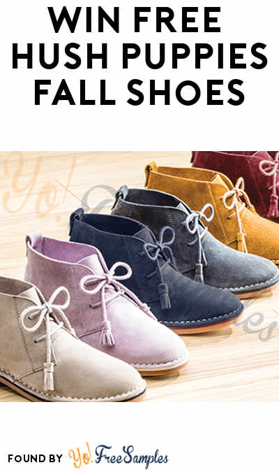 Win FREE Hush Puppies Fall Shoes