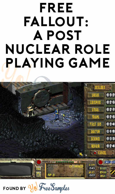 FREE Fallout: A Post Nuclear Role Playing Game PC Download (Steam Required)