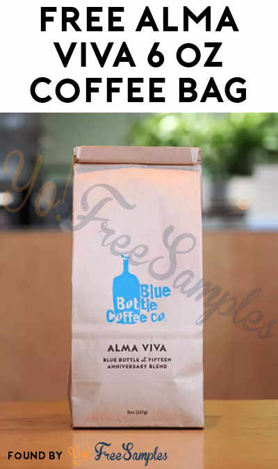 FREE Blue Bottle Coffee $10 Credit [Verified Received By Mail]