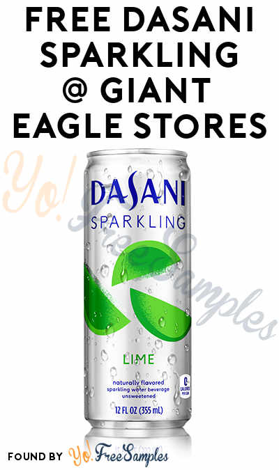 FREE Dasani Sparkling At Giant Eagle (eAdvantage Card Required)