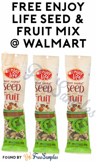 3 FREE Enjoy Life Seed & Fruit Mix Products At Walmart (Coupon Required)
