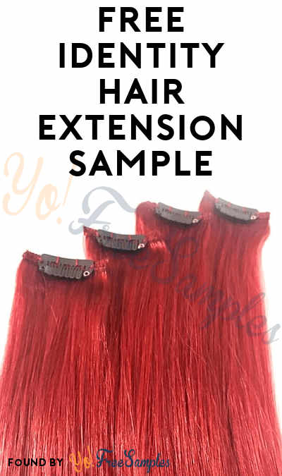 FREE Identity Hair Extension Sample